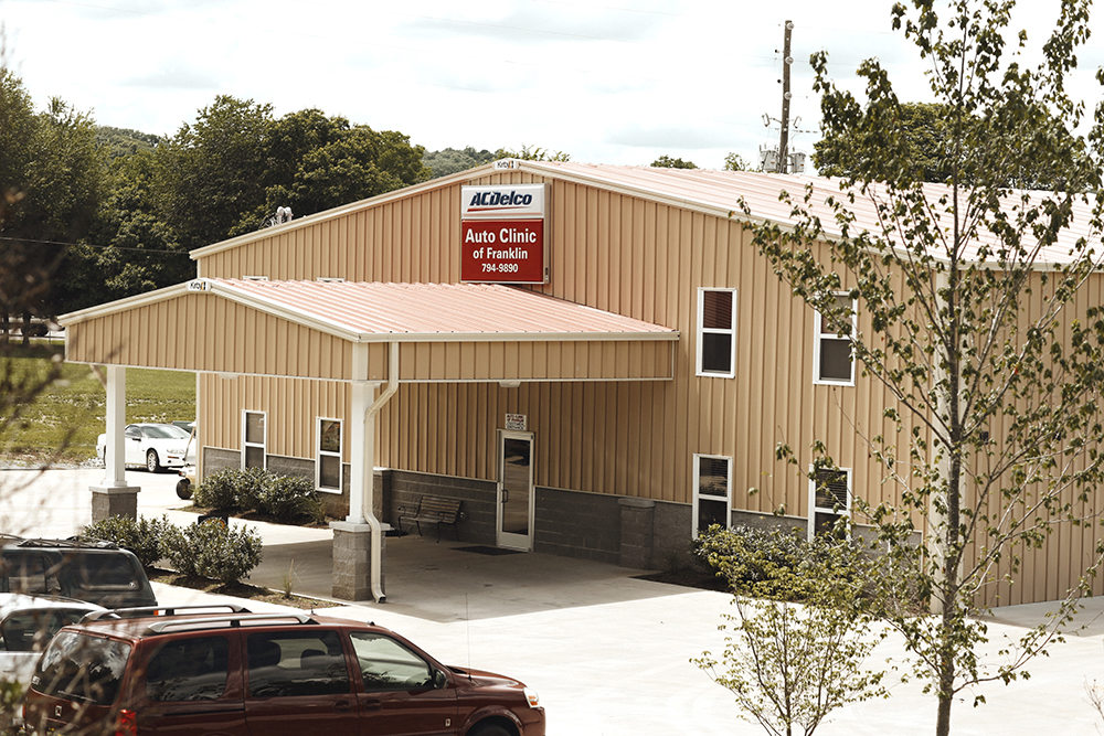 Auto clinic of franklin shop