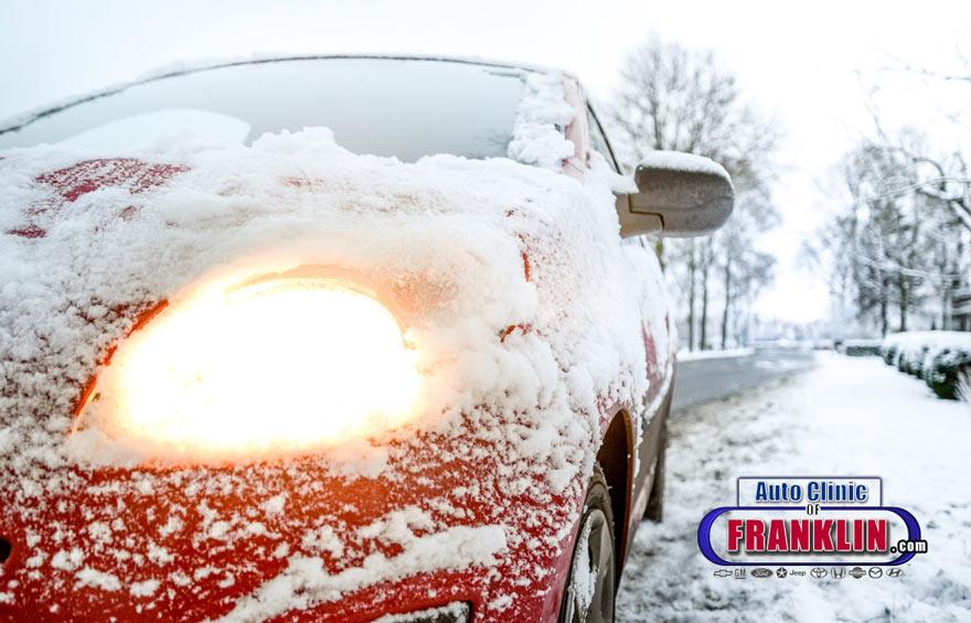 Wintertime Dead Car Battery